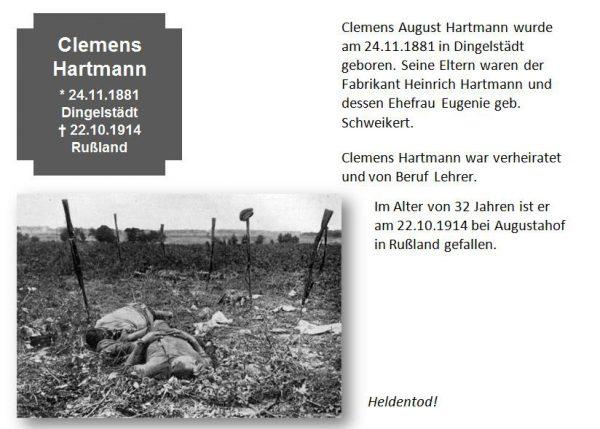 Hartmann, Clemens