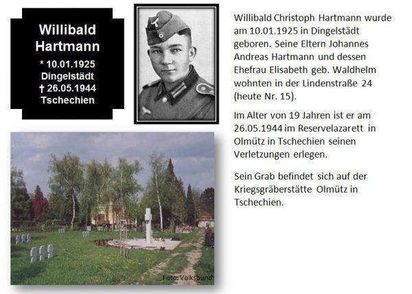 Hartmann, Willibald