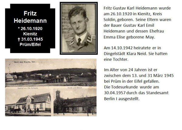 Heidemann, Fritz