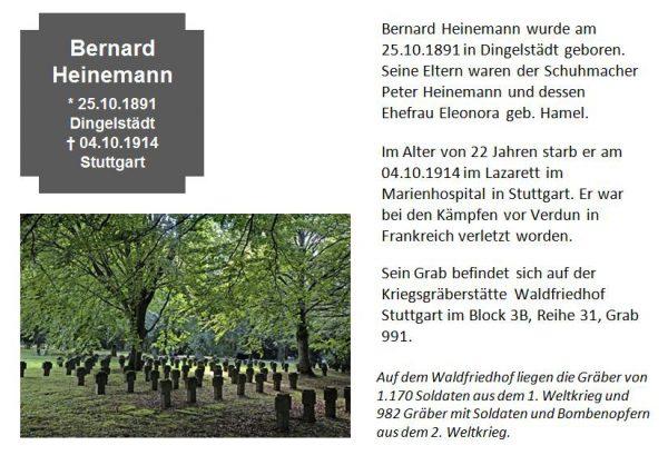 Heinemann, Bernard