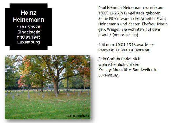 Heinemann, Heinz