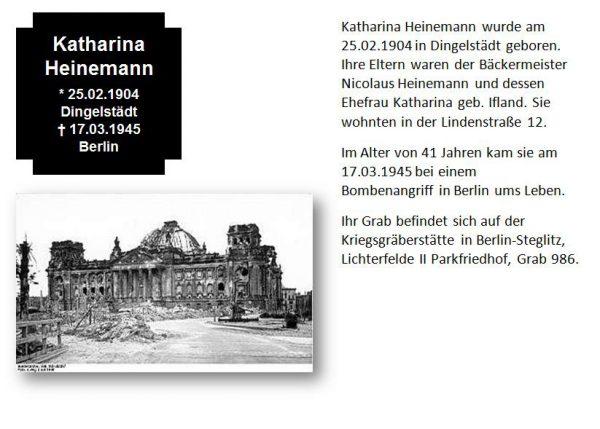 Heinemann, Katharina