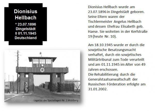 Hellbach, Dionysius