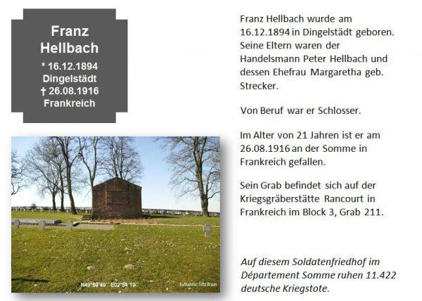 Hellbach, Franz
