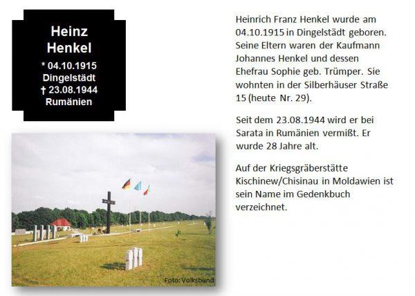 Henkel, Heinz