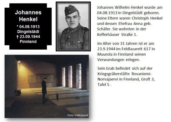 Henkel, Johannes