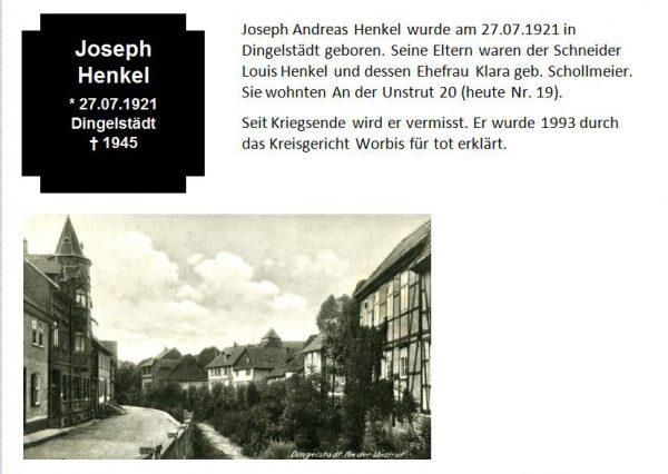 Henkel, Joseph