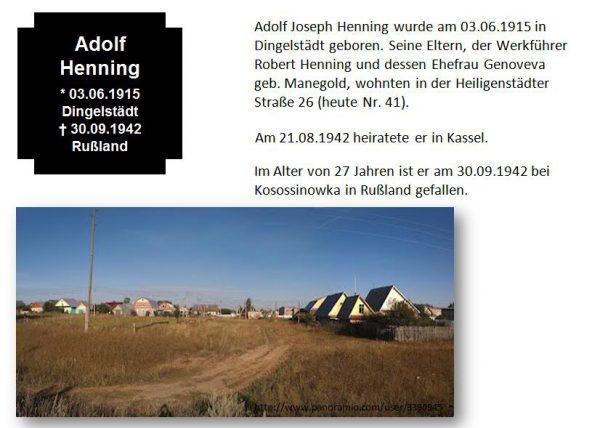 Henning, Adolf