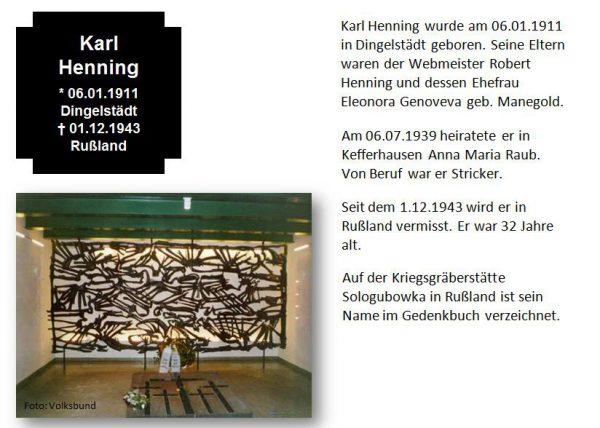 Henning, Karl
