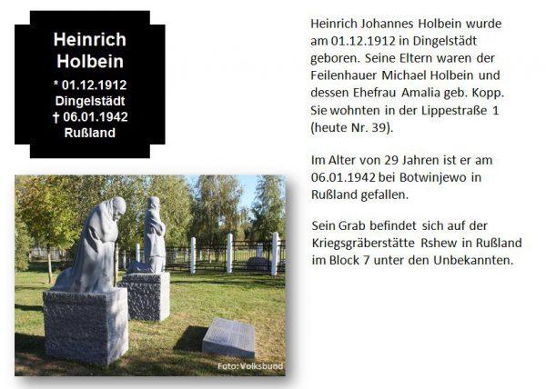 Holbein, Heinrich