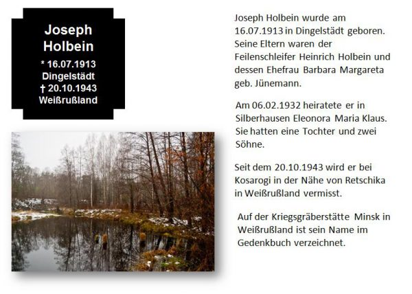 Holbein, Joseph