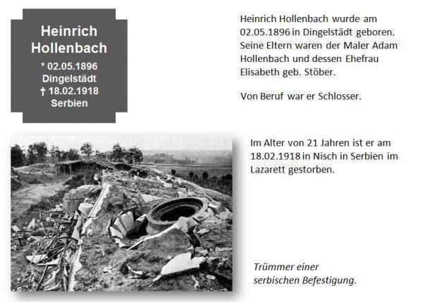 Hollenbach, Heinrich