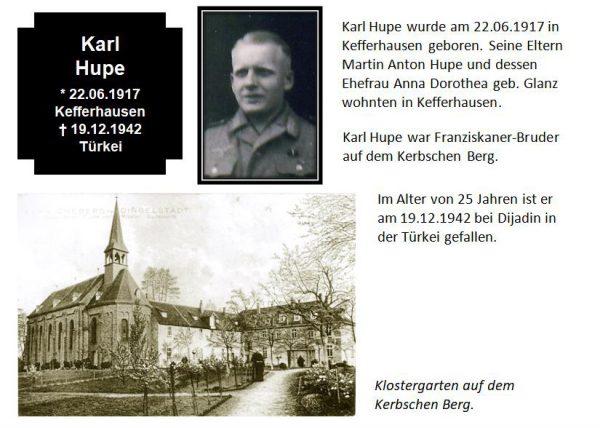 Hupe, Karl