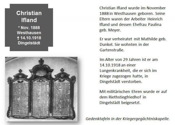 Ifland, Christian