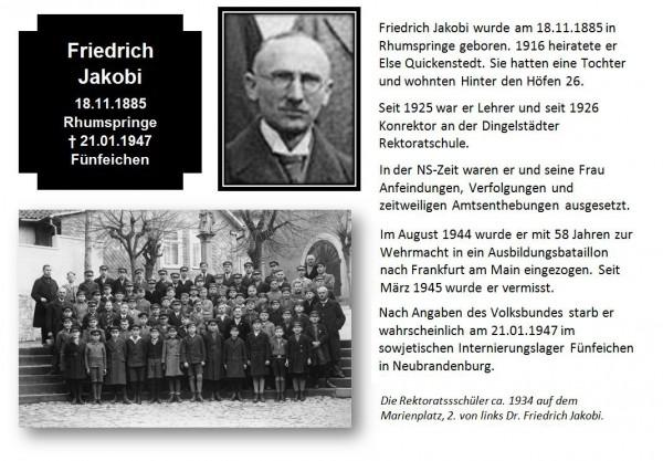 Jakobi, Dr. Friedrich