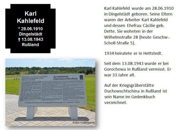 Kahlefeld, Karl
