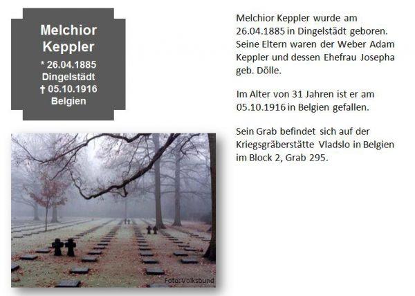 Keppler, Melchior