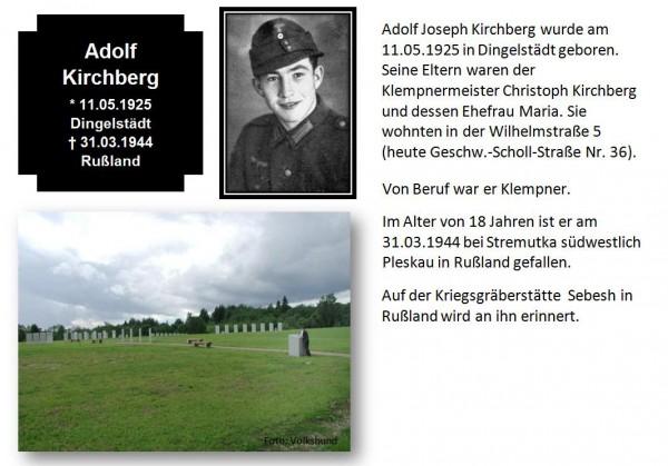 Kirchberg, Adolf