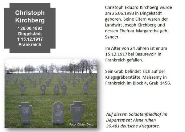 Kirchberg, Christoph