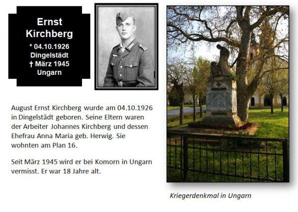 Kirchberg, Ernst