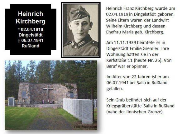 Kirchberg, Heinrich