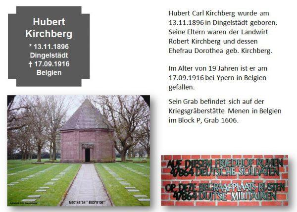 Kirchberg, Hubert
