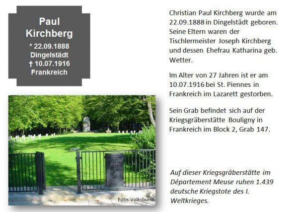 Kirchberg, Paul