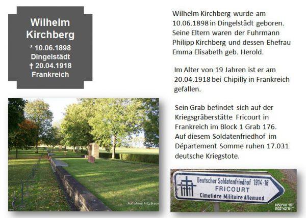 Kirchberg, Wilhelm