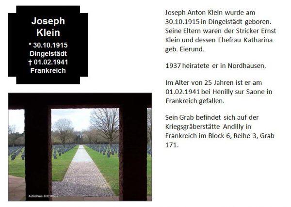 Klein, Joseph