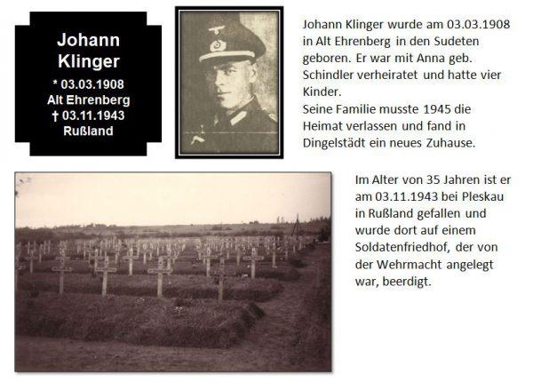 Klinger, Johann