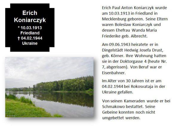 Koniarczyk, Erich