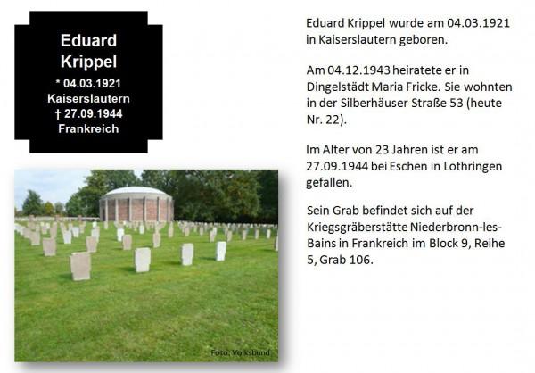 Krippel, Eduard