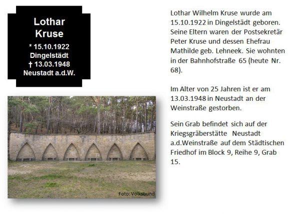 Kruse, Lothar