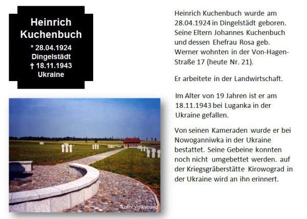 Kuchenbuch, Heinrich