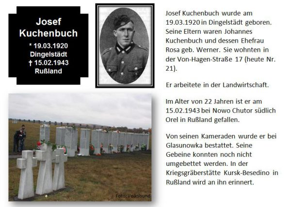 Kuchenbuch, Josef