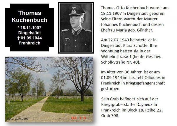Kuchenbuch, Thomas