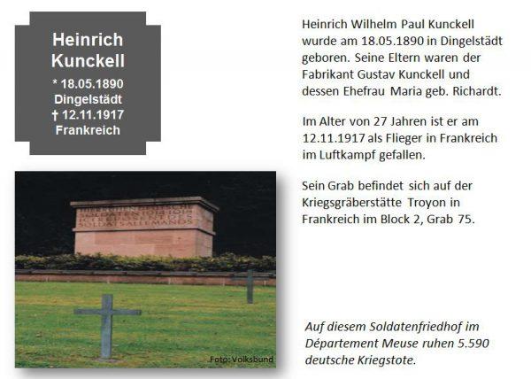 Kunckell, Heinrich