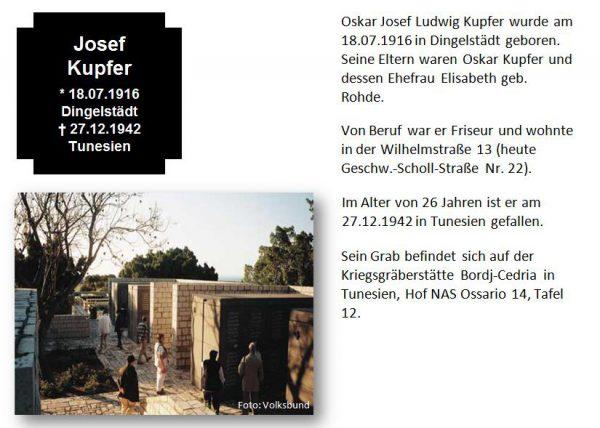 Kupfer, Josef