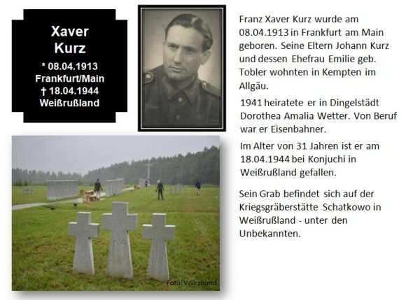 Kurz, Xaver