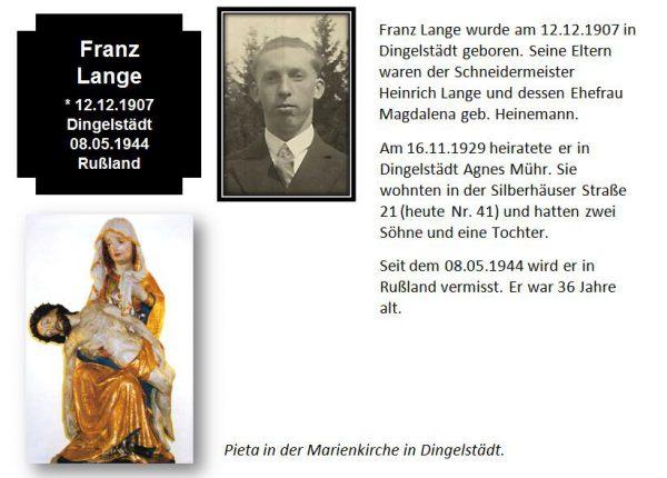Lange, Franz