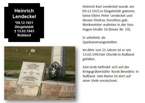 Lendeckel, Heinrich