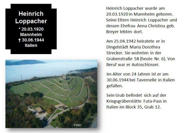 Loppacher, Heinrich