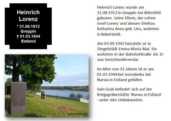 Lorenz, Heinrich