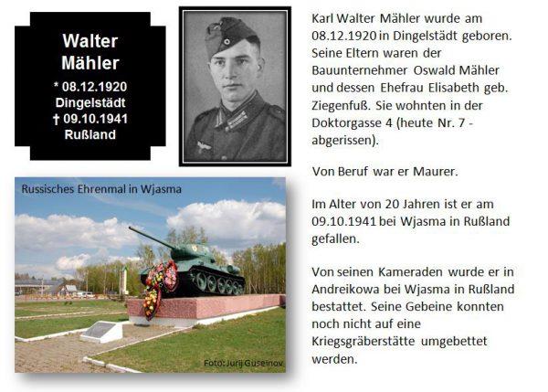 Mähler, Walter