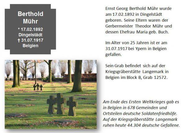 Mühr, Berthold