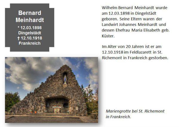 Meinhardt, Bernard