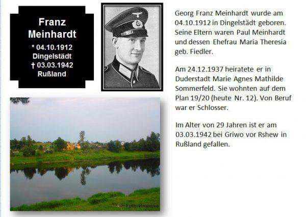 Meinhardt, Franz