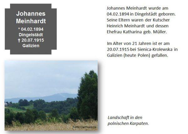 Meinhardt, Johannes