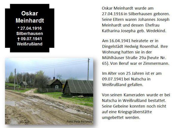 Meinhardt, Oskar
