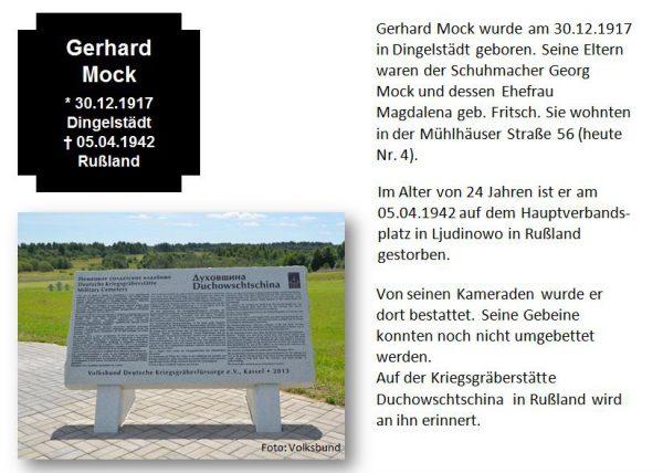 Mock, Gerhard